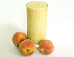 Hemp & Peach Protein Smoothie